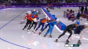 Lee Seung-Hoon Wins Inaugural Men's Olympic Mass Start