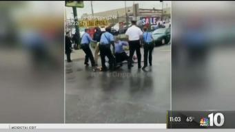 3 Officers and 2 Teens Hurt, 2 Teens Charged During Brawl