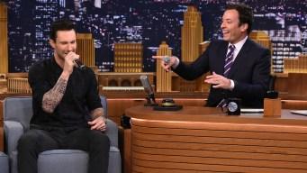 WATCH: Levine, Fallon Impersonate Singers