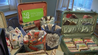 Young Entrepreneur's Bags Make a 'Big Impact' On Her Community