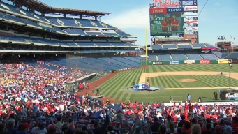 Students Flood Into Citizens Bank Park for Weather Education Day