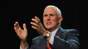 VP Hopeful Mike Pence Rallies at Pa. Waste Plant