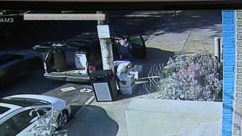 Video Shows 2 Men Leaving Piles of Mail on Street Corner