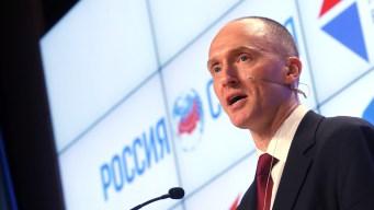 Ex-Trump Campaign Adviser Met With Russian Spy