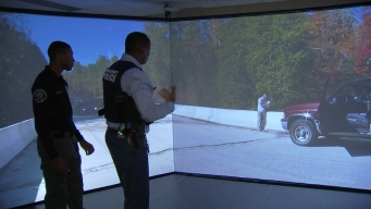 Camden County Police Use High-Tech Training to Help Them Deal With Dangerous Situations