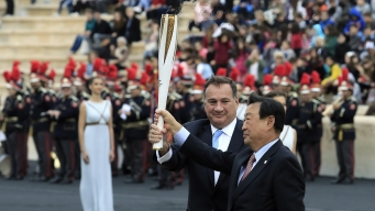 Pyeongchang Gets Olympic Flame Ahead of 100-Day Relay