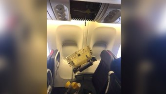 Ceiling Panel Falls on Toddler on American Airlines Flight