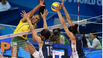 Alisha Glass, Volleyball