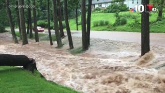 Flash Flooding Slams Philadelphia Suburbs