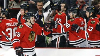 Hawks Top Oilers, Clinch President's Trophy