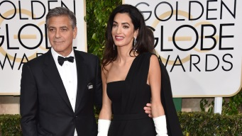 Globes: Clooney, Stars Support Charlie Hebdo