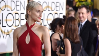 Red, White and Muted Hues Rule Globes Red Carpet