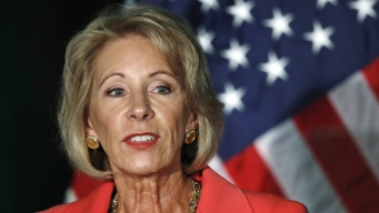 On Work Trips, DeVos Flies on Her Plane at Own Expense<br />