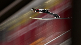Wellinger Leads Qualifying for Ski Jumping Normal Hill Final