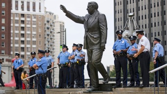 Philly's Frank Rizzo Statue Won't Be on the Move for Years
