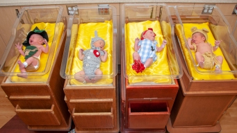 Ozstetrics: Hospital Dresses Newborns as 'Wizard of Oz' Cast