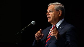 Sen. Bob Menendez Corruption Charges on Hold