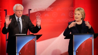 Fireworks Fly as Clinton, Sanders Square Off