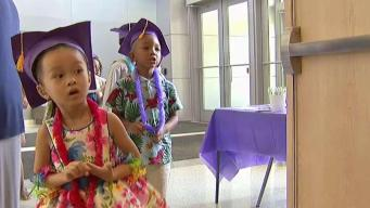 Preschoolers With Hearing Loss Graduate