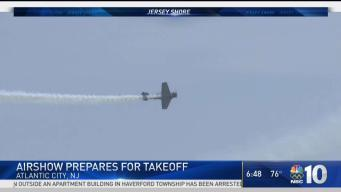 Airshow In Atlantic City Prepares For Takeoff