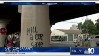Anti-Police Vandalism in Point Breeze