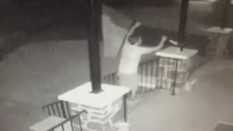WATCH: Thief Steals Man's Irish Flag With Family Crest