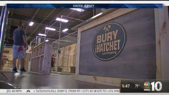 Take Aim: Ax Throwing Venue Opens in South Jersey