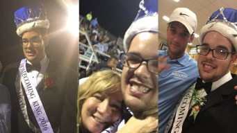 Teen with Autism Wins Homecoming Crown