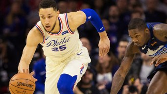 Embiid, Simmons Enter NBA Top-10 in Popularity
