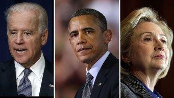 Obama Caught Between Clinton, Biden Ambitions