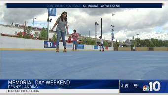 Blue Cross RiverRink Summerfest Opens for Holiday Weekend