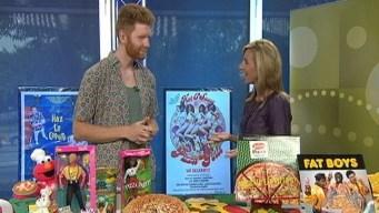 A World-Record Worthy Pizza Man?