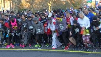 Runners Face the Cold for the Rocky Run