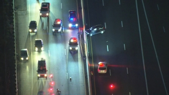 Hit-&-Run Vehicles Kill Mom in Front of Son on I-676