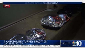 Cacia's Bakery in South Phily Cooking 140 Turkeys on Big Day