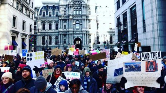 2,000 March in Philly to Protest Travel Ban