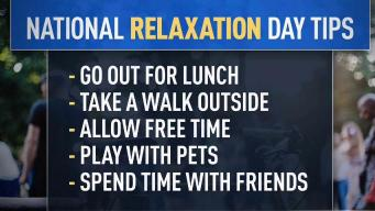 Chill Out! It's National Relaxation Day