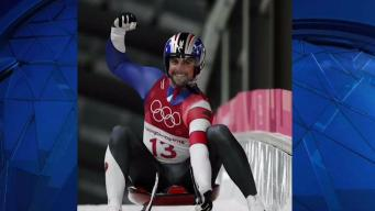 Olympian Chris Mazdzer Downs a Pizza Slice in 1 Gulp