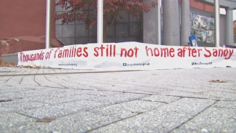 Not Home 3 Years After Sandy, Protesters Blast Christie