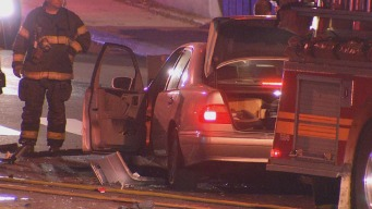 Baby Girl Injured in Fiery City Ave Crash