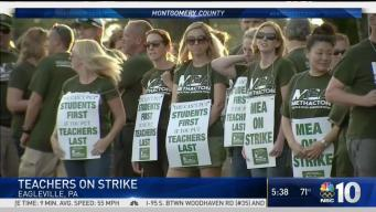 Montco School Strike Enters Day 2