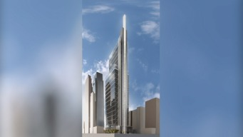 Comcast CEO Speaks on New Skyscraper