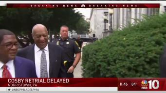 Cosby Retrial Has Been Delayed