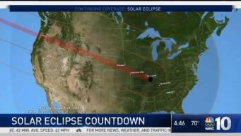 Final Countdown to Solar Eclipse
