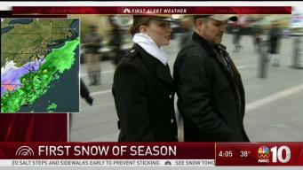 Philly Crews Prepare for Snow, Army-Navy Game
