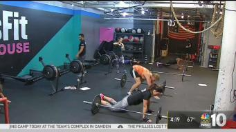 Jessica Boyington Tries Military-Style CrossFit Workout
