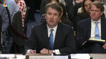Kavanaugh Won't Answer Hypothetical on Presidential Subpoena