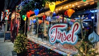 Seasonal Bar 'Tinsel' Promises Pop-up Christmas Cheer