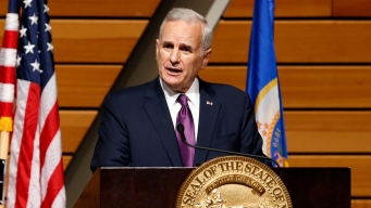 Minnesota Governor Collapses During Speech