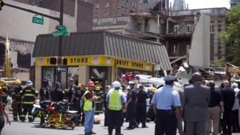 Victims' Families Mark 2nd Anniversary of Market Street Collapse